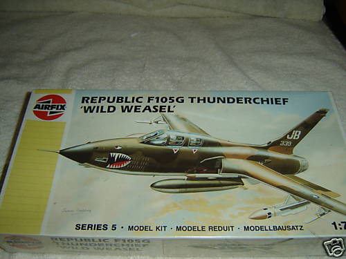 Republic F105G Thunderchief 'Wild Weasel'