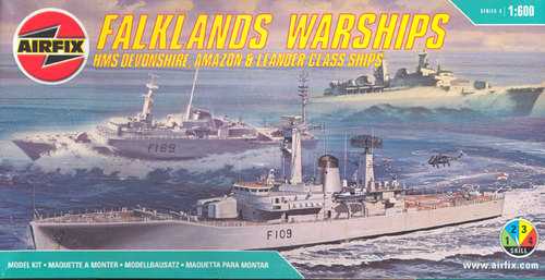 Falklands Warships