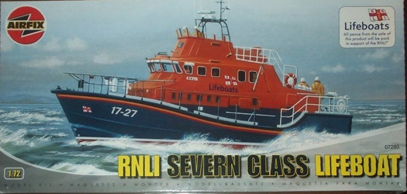 Severn Class RNLI Lifeboat