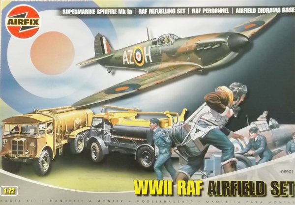 WWII RAF Airfield Set