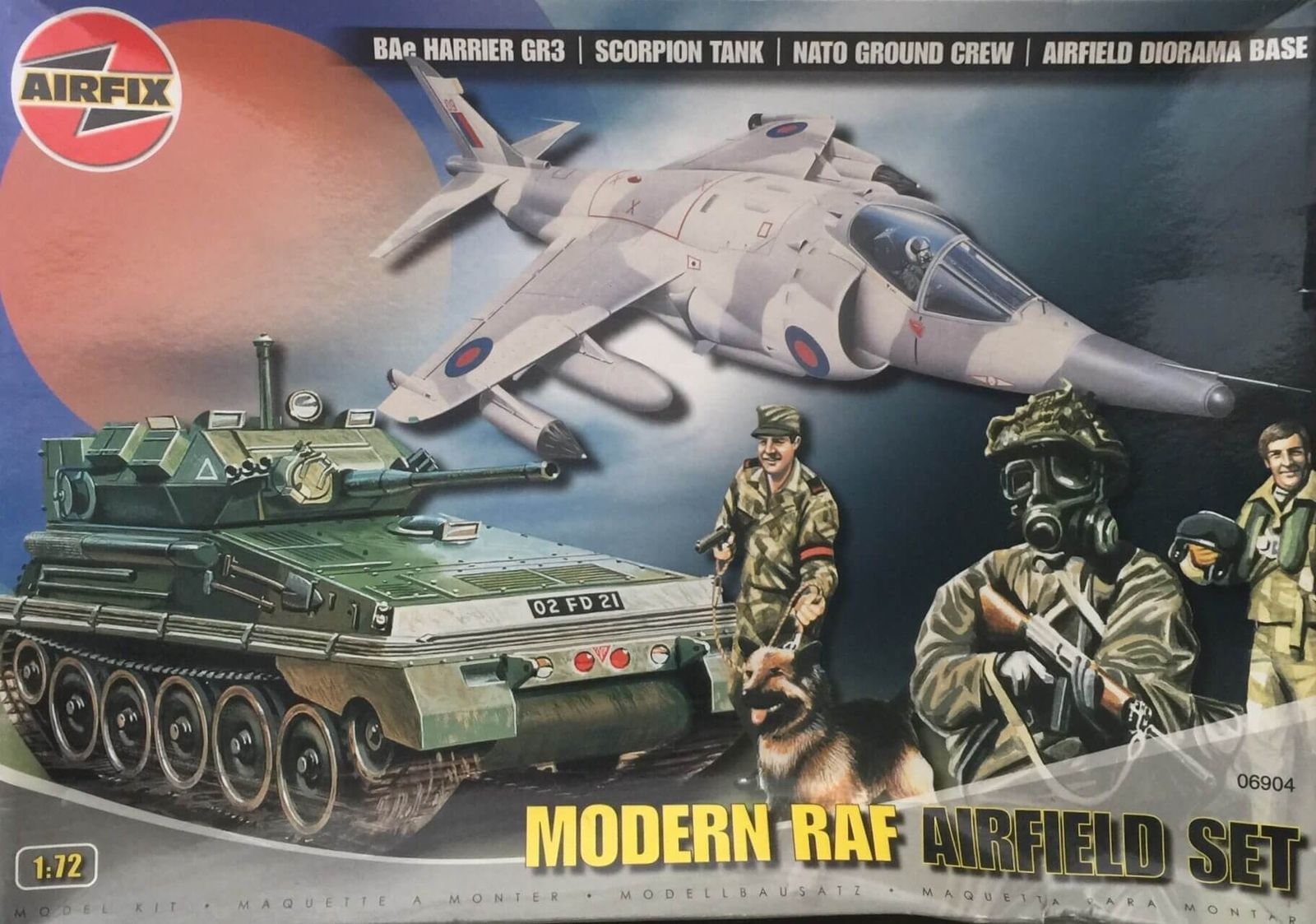 Modern RAF Airfield Set