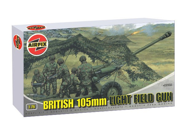 British M119 105mm Light Field Gun