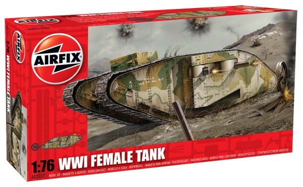 WWI Female Tank