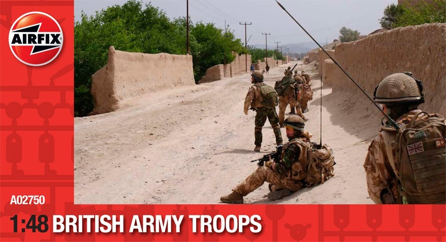 British Army Troops
