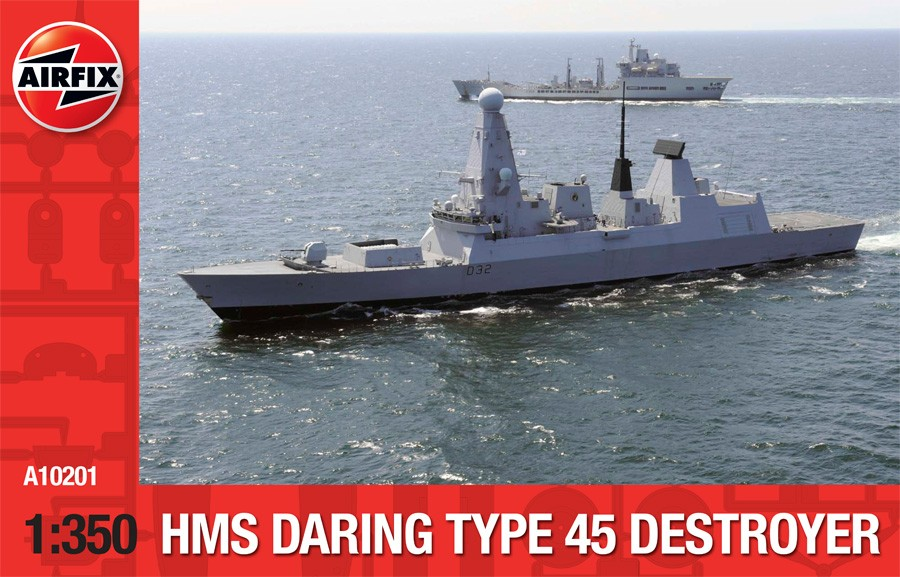 HMS Daring Type 45 Destroyer