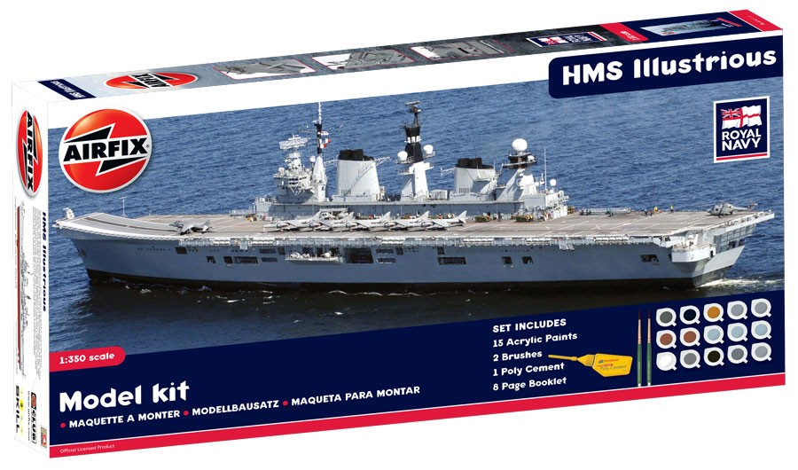 HMS Illustrious Gift Set