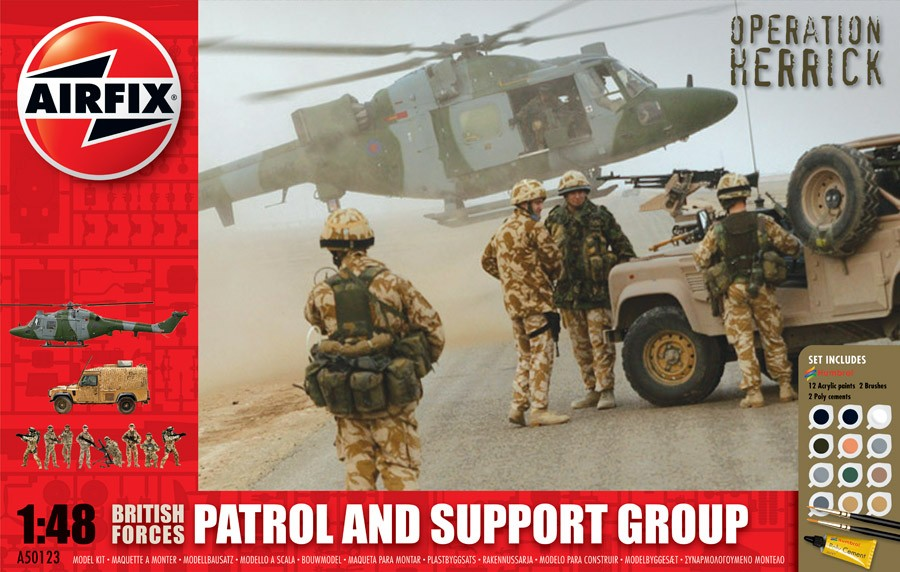 British Forces - Patrol and Support Group