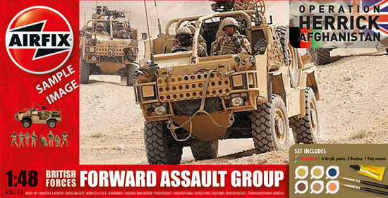 British Forces - Forward Assault Group