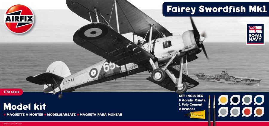 Fairey Swordfish MkI Gift Set