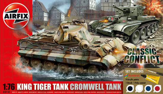 Cromwell and King Tiger Conflict