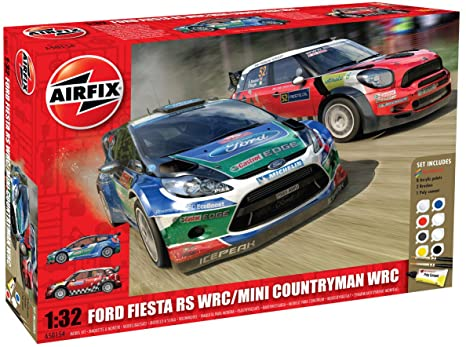Ford Fiesta WRC and Mini Countryman WRC Twin Pack