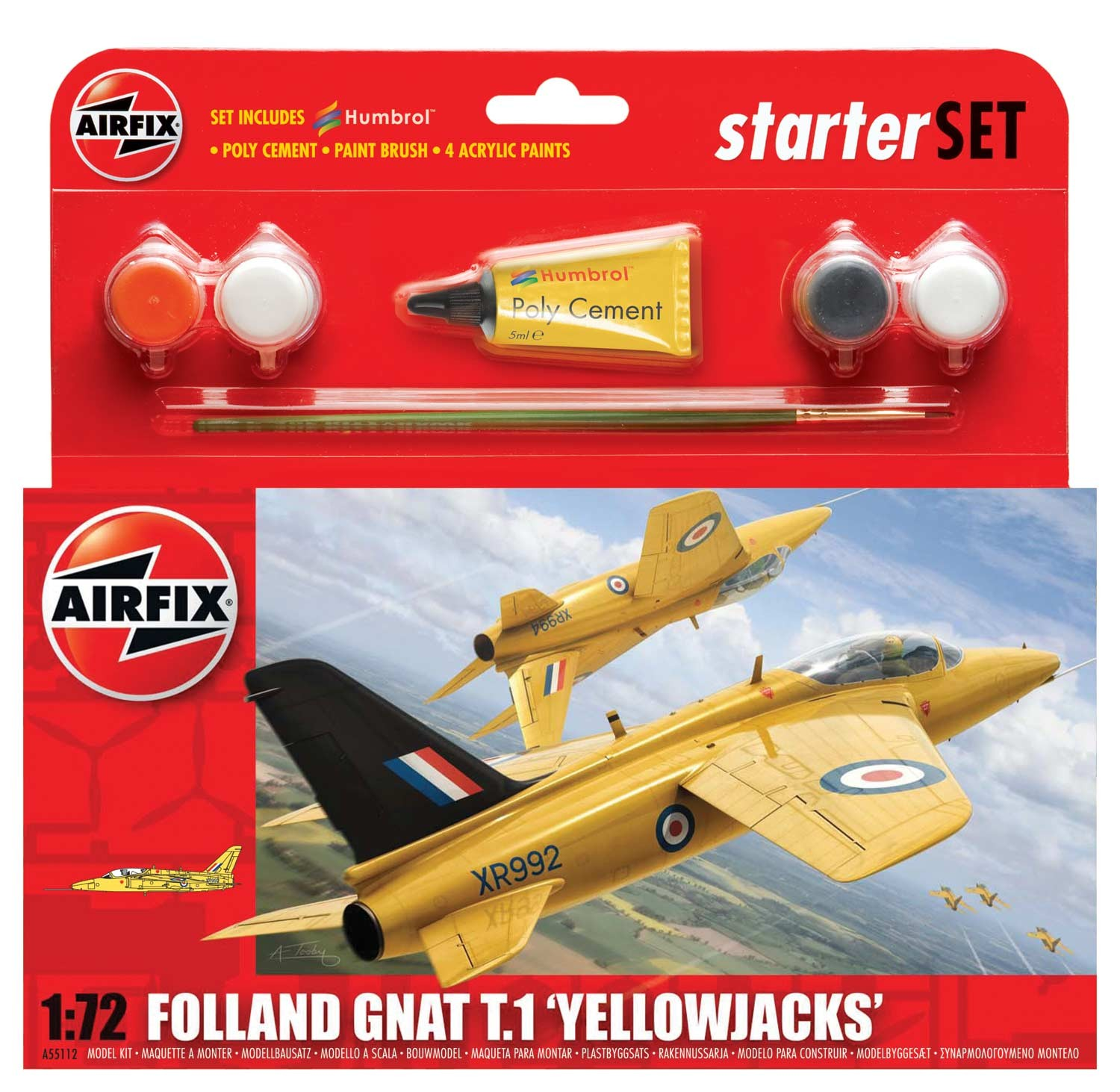 Folland Gnat 'Yellow Jacks'