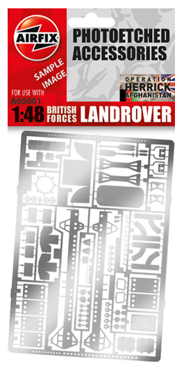 Land Rover Photo-etch Parts