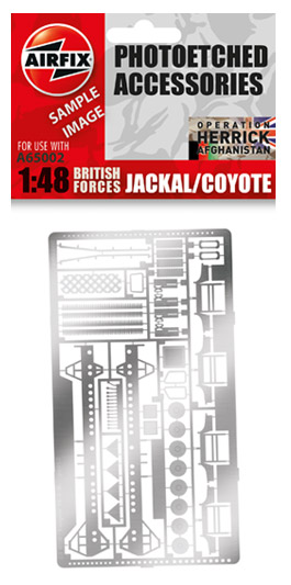 Jackal/Coyote Photo-etch Parts