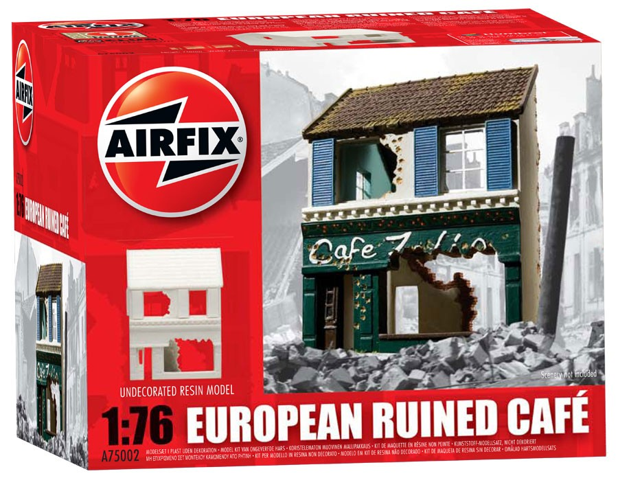 European Ruined Cafe