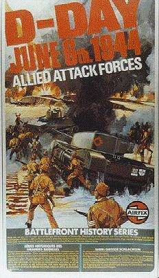 D-Day - Allied Attack Forces