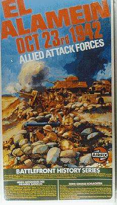 El Alamein - Allied Attack Forces