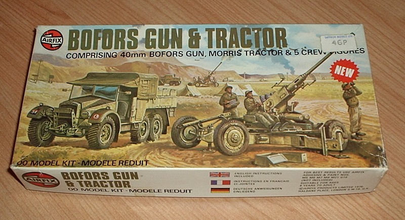 Bofors Gun and Tractor