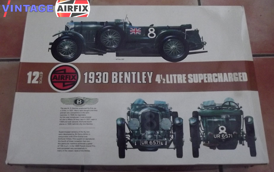 1930 4.5 Litre Supercharged Bentley