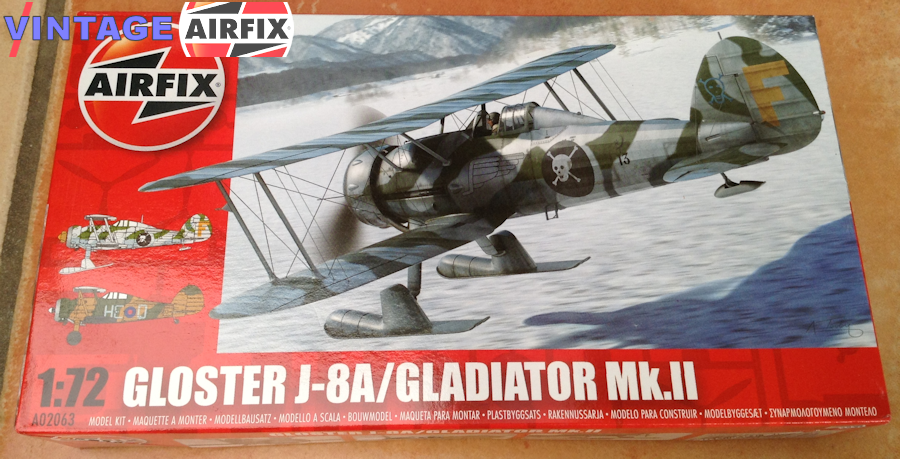 Gloster Gladiator Plus Skis