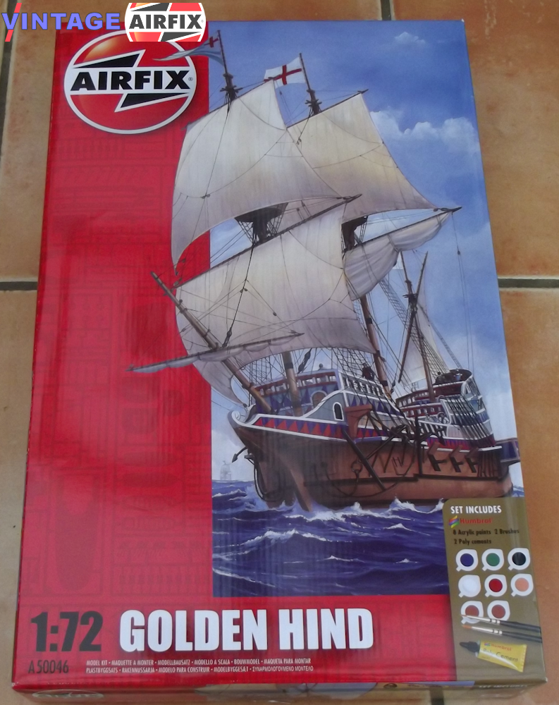 Golden Hind Gift Set