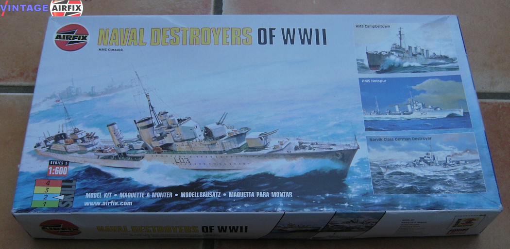 Naval Destroyers of WWII