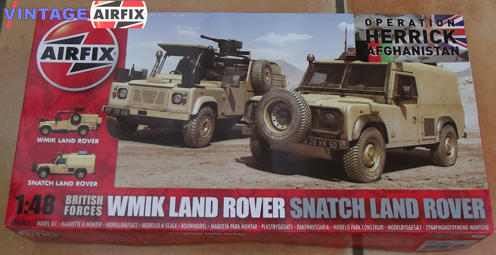 British Forces WMIK and Snatch Land Rover