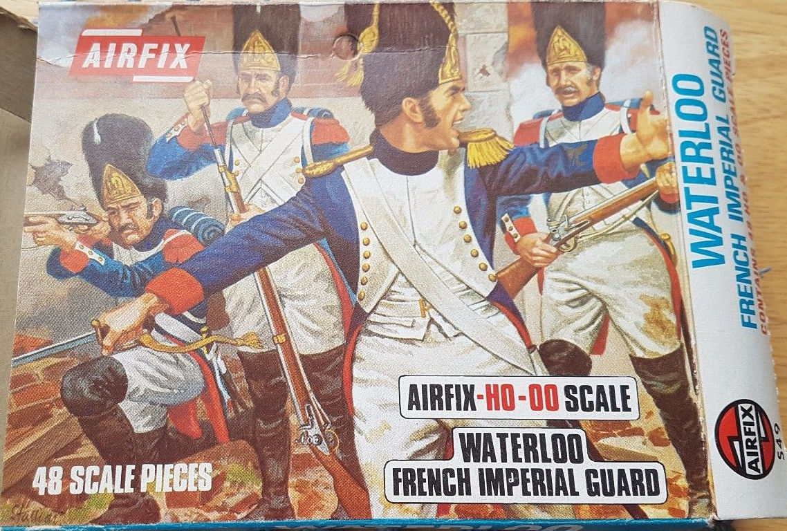French Grenadiers of the Imperial Guard 1815
