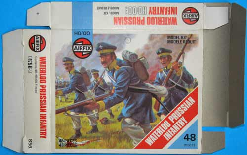 Waterloo Prussian Infantry