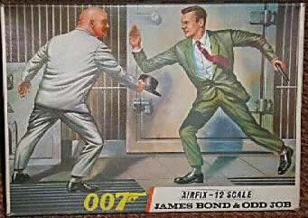 James Bond and Odd Job