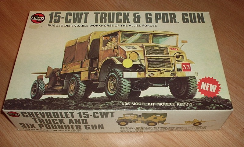 Chevrolet 15cwt Truck and 6pdr Gun