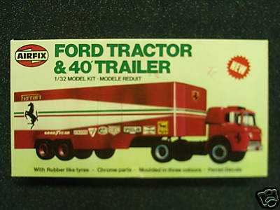 Ford C900 Tractor and 40' Trailer
