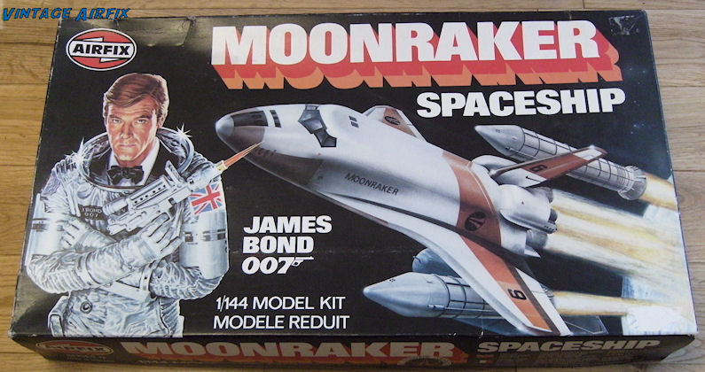 James Bond Moonraker Shuttle