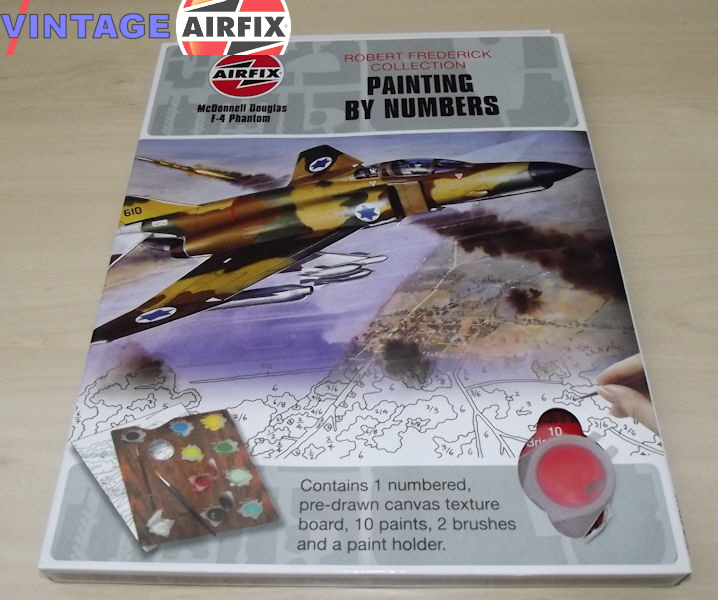 Airfix Painting By Numbers Vintage Airfix