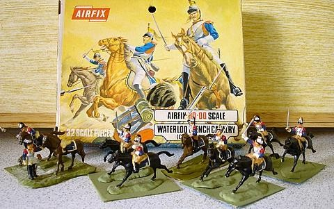 Waterloo French Cavalry