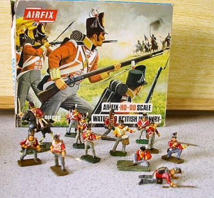 Waterloo British Infantry