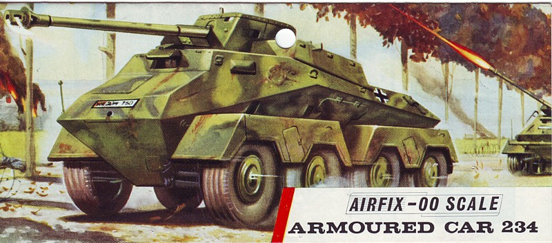German Armoured Car (Sd Kfz 234)