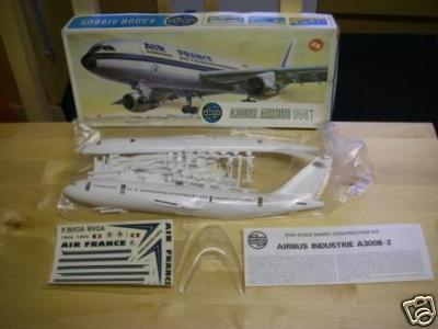 a300b airbus air france vintage airfix. Black Bedroom Furniture Sets. Home Design Ideas