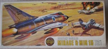 Mirage and MiG-15