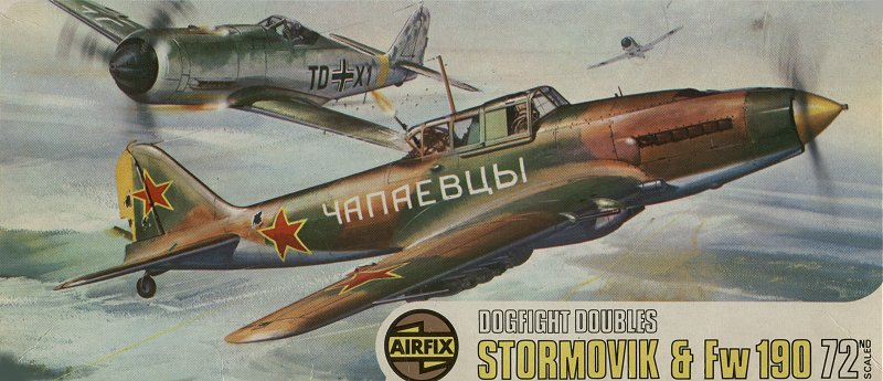 Stormovik and FW190
