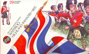 Waterloo Highland Infantry 1815