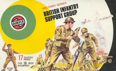 British Infantry Support