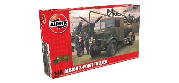 Albion AM463 3-point fueller