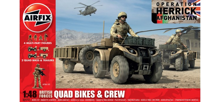 British Quad Bikes and Crew