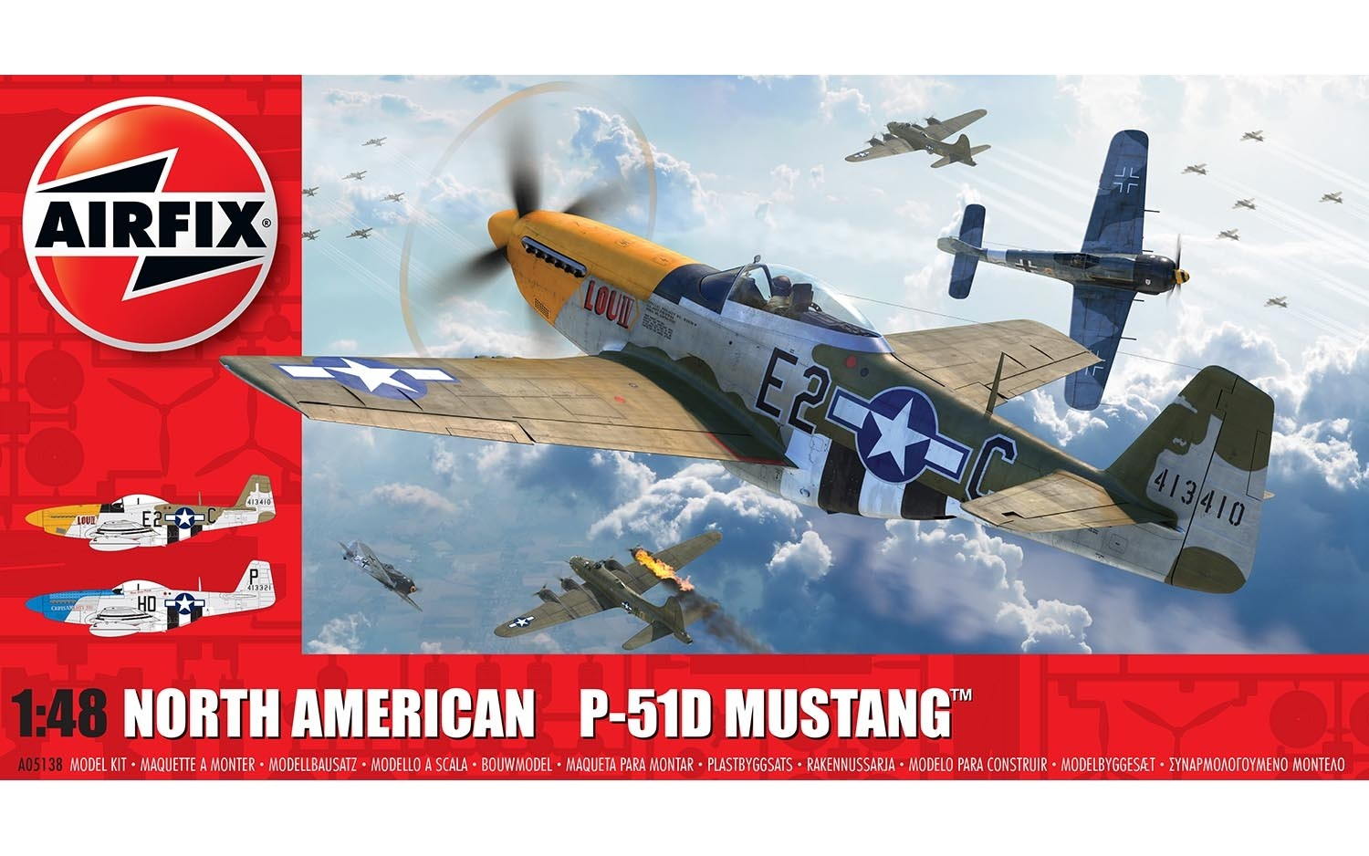 North American P-51D Mustang (Filletless Tails)