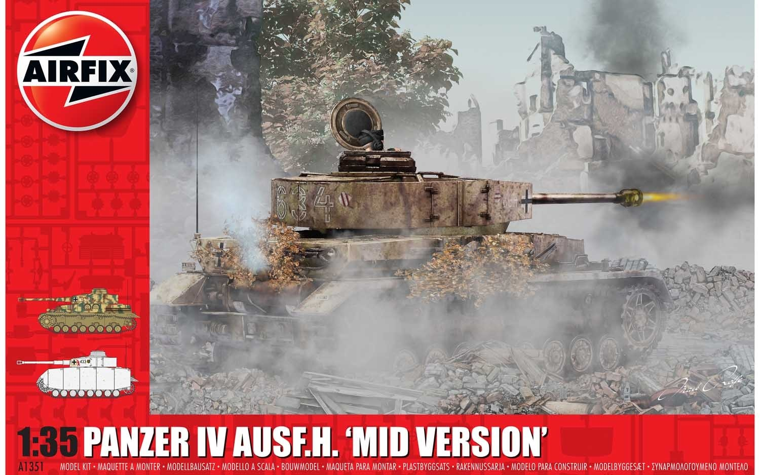 Panzer IV Ausf.H, Mid Version