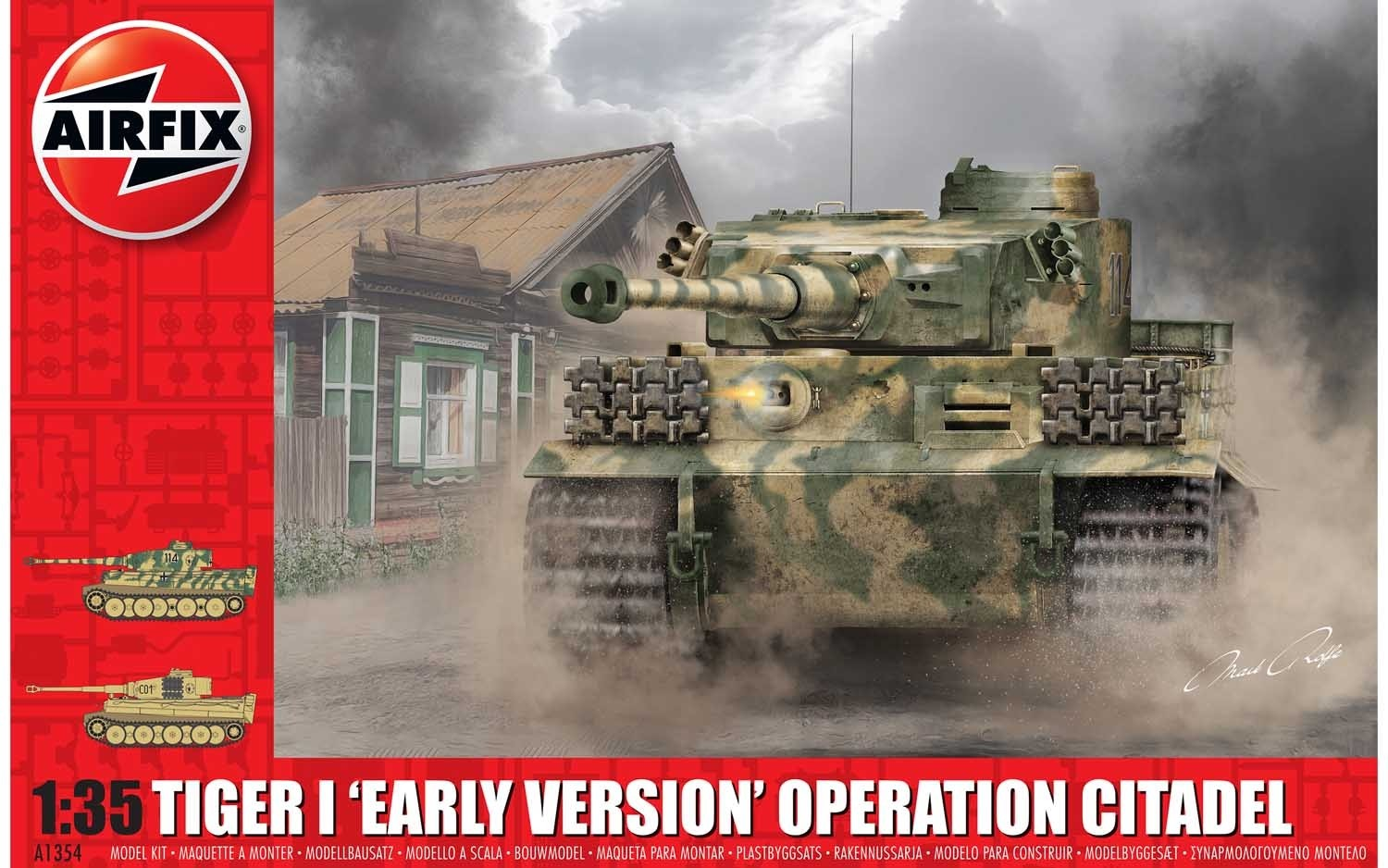 Tiger-1, Early Version - Operation Citadel