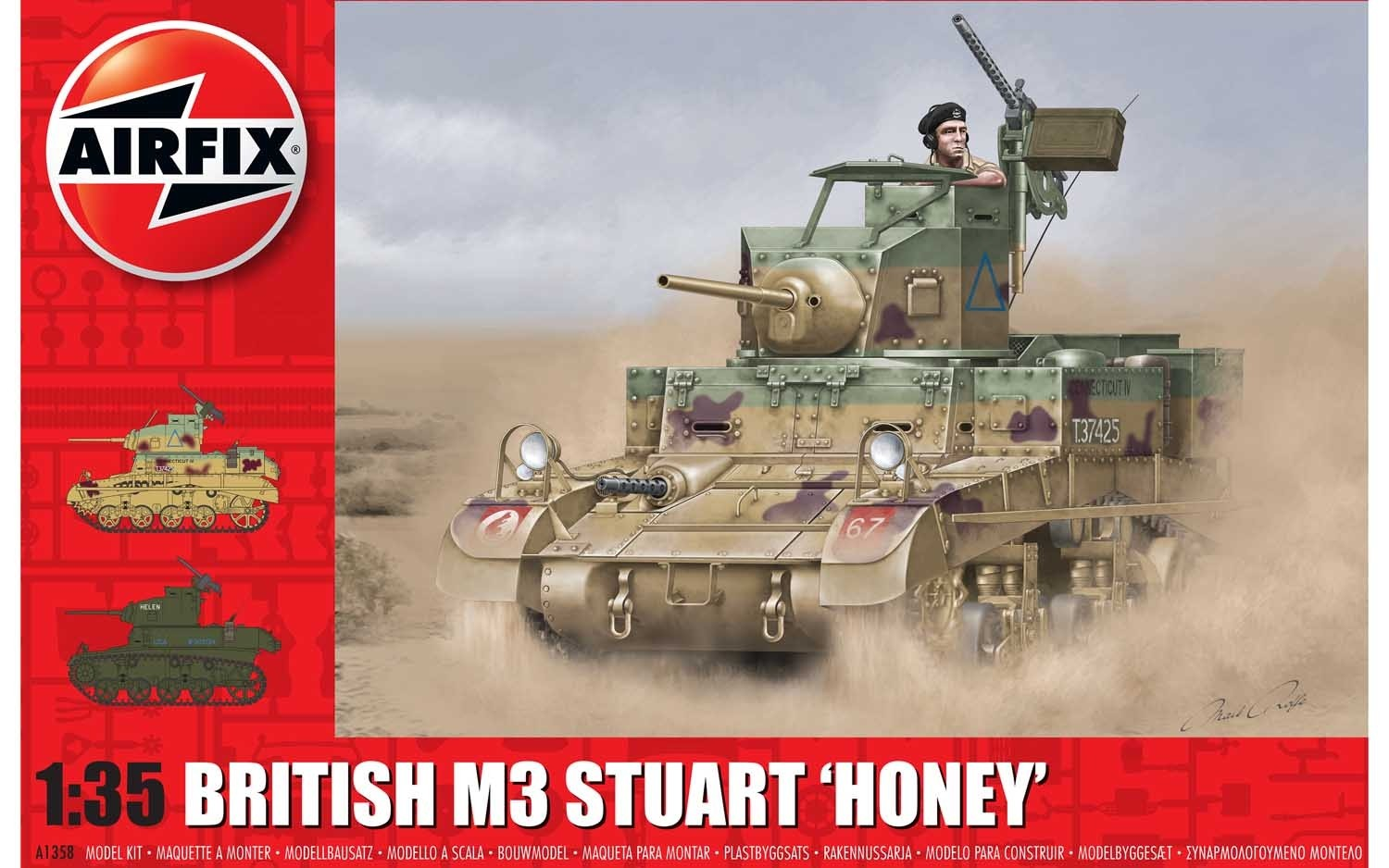 M3 Stuart, Honey (British Version)