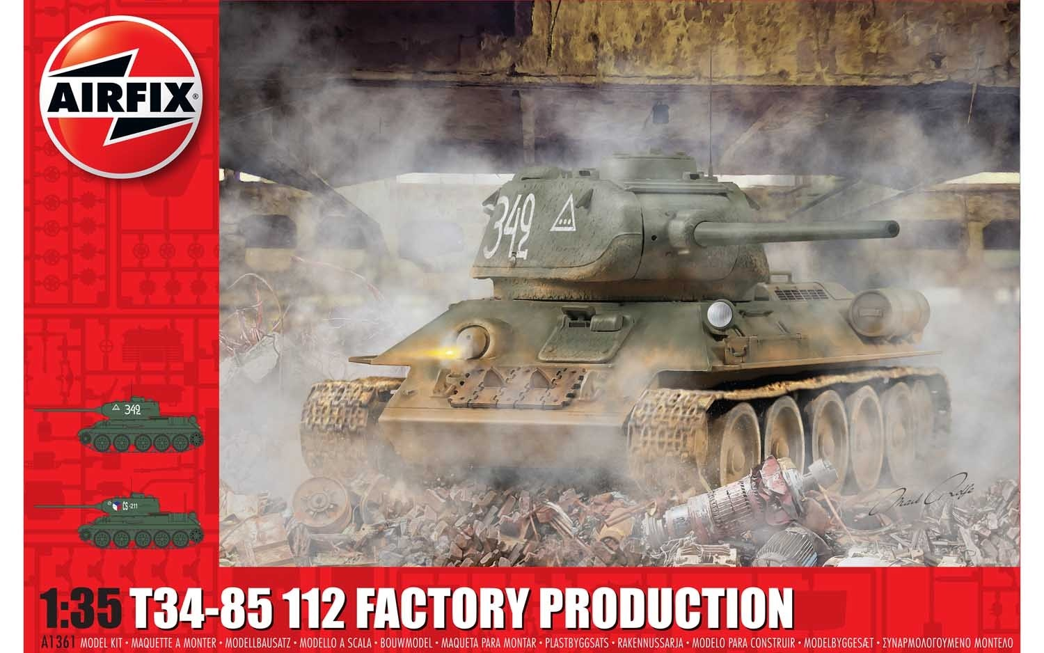 T34/85, 112 Factory Production