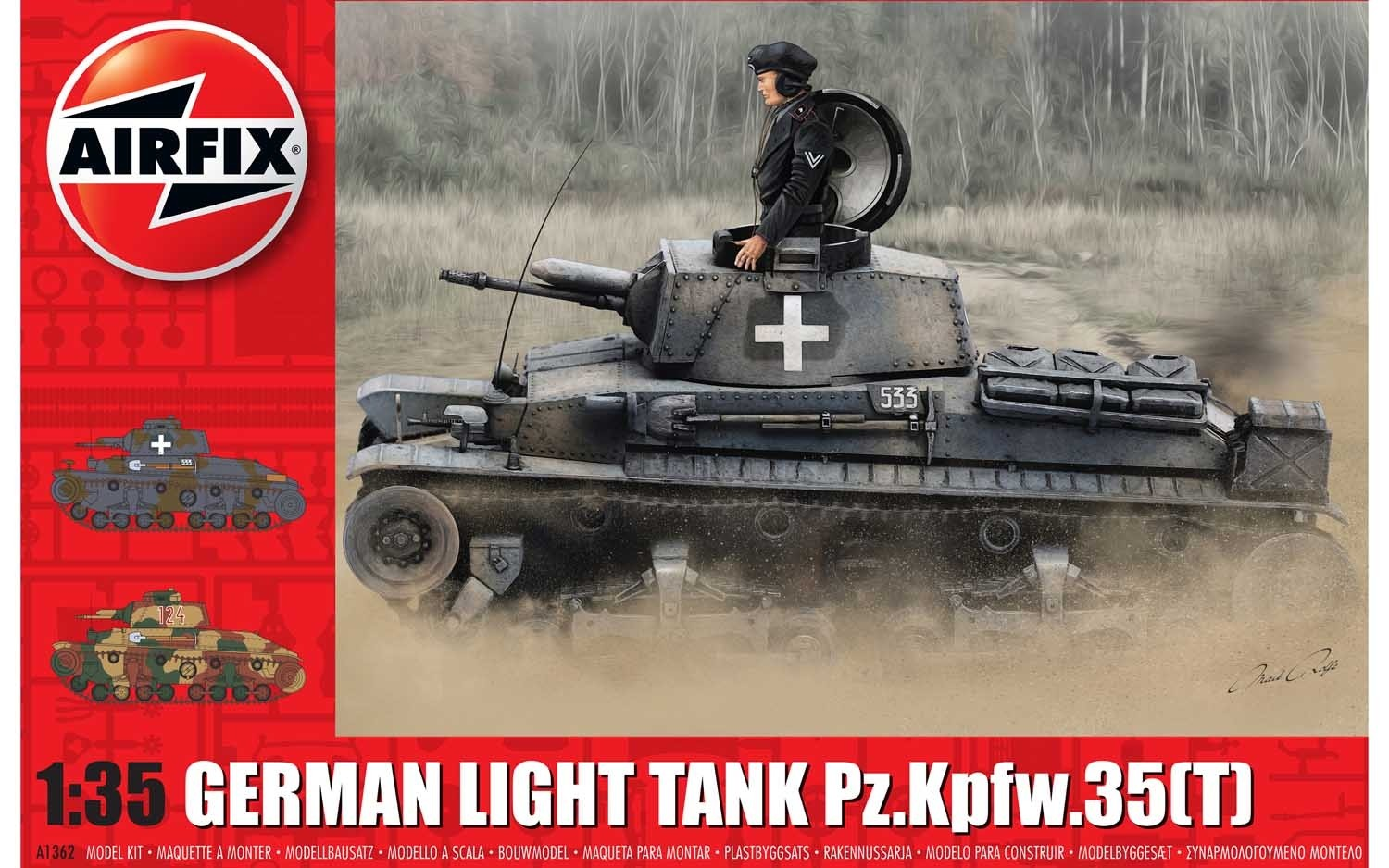 German Light Tank Pz.Kpfw.35(t)